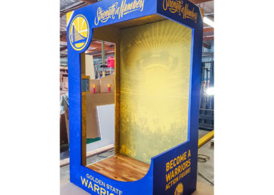 Golden State Warriors Display