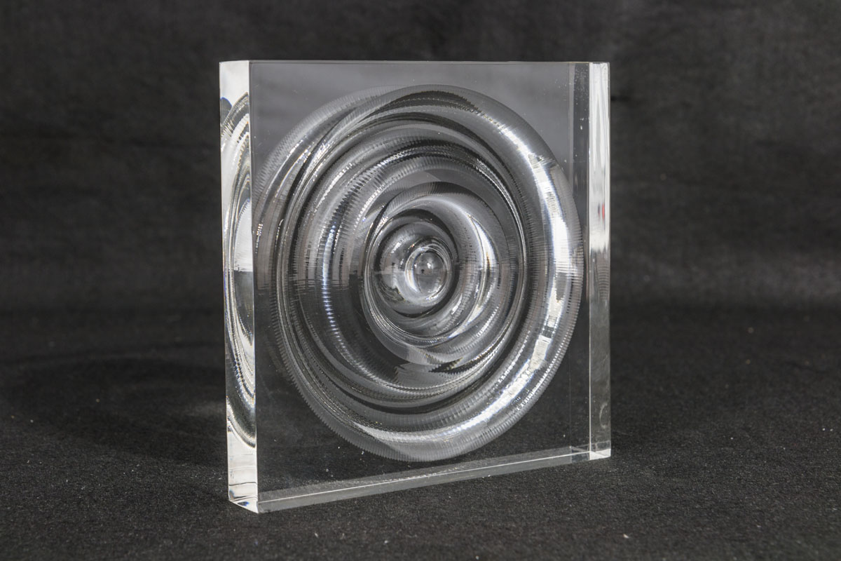 3D Acrylic Milled Water Drop