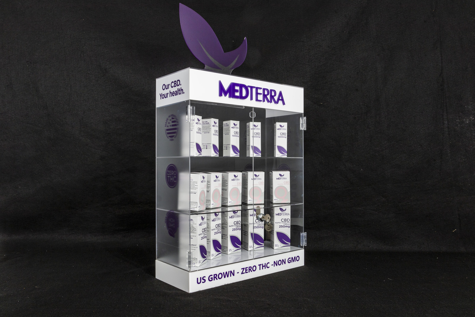 MEDTERRA,POS display case