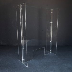 Horizontal Plexi Glass Shield
