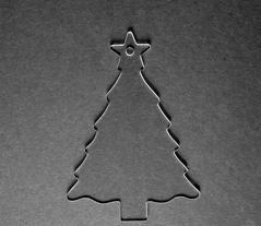 Acrylic Christmas Blank