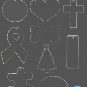 Acrylic Blanks for Keychains