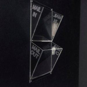 Acrylic Mail Box